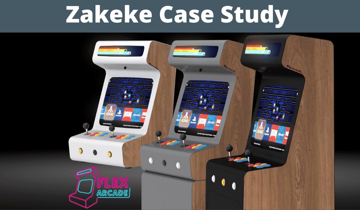 Zakeke Case Study Flex Arcade